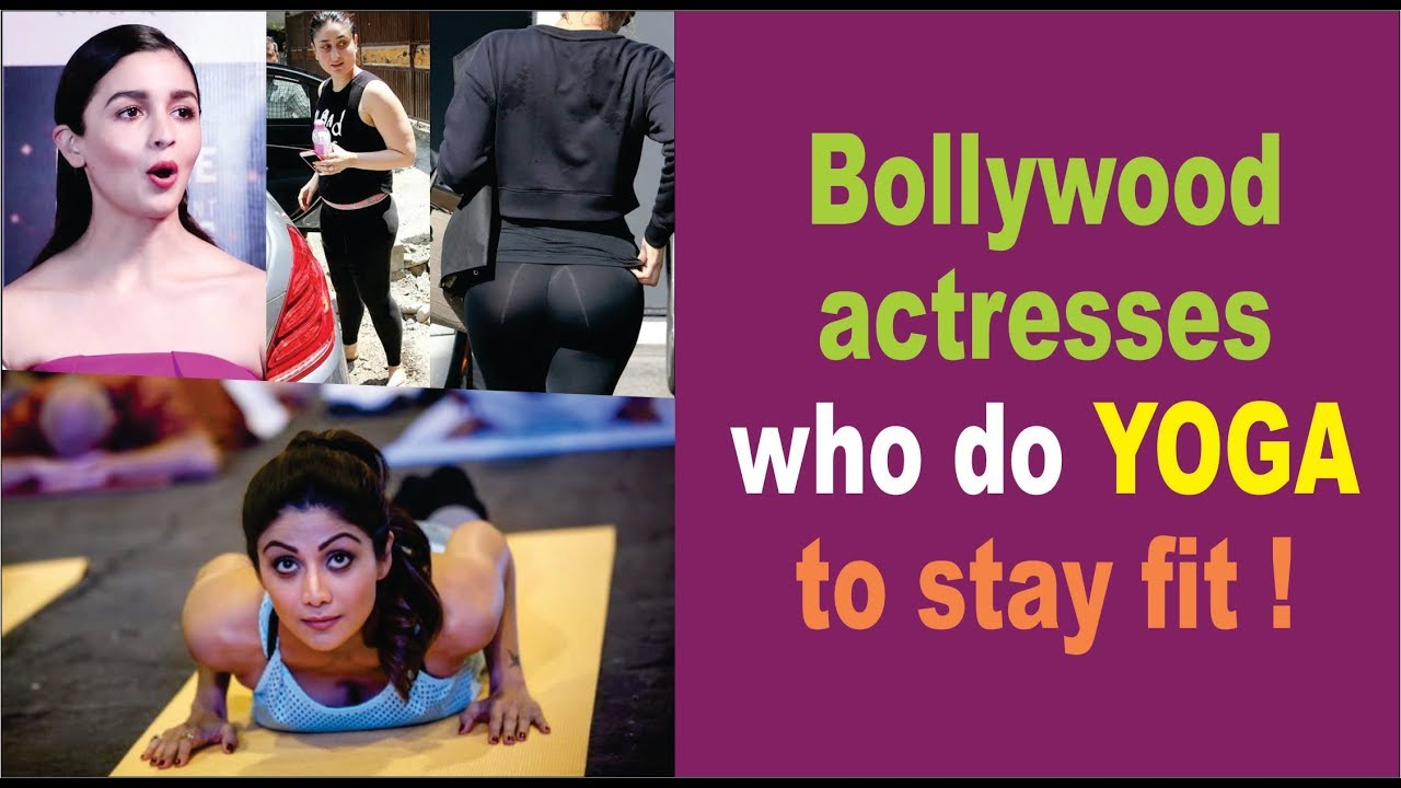 Bollywood Actresses who do yoga Everyday | Bollywood Heroines | Stay Fit | Yoga Practice