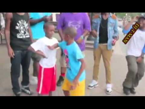 DJ T MAN young boys  Dance Battle hiphop street  In Harlem NYC