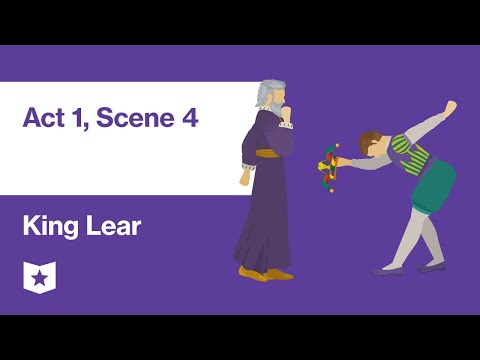 King Lear By William Shakespeare | Act 1, Scene 4