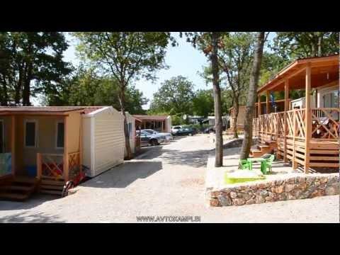 Camp site Njivice - island Krk - Croatia