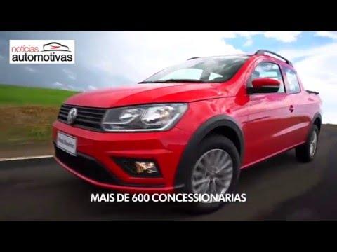 VÍDEO: Release da Nova Volkswagen Saveiro 2017