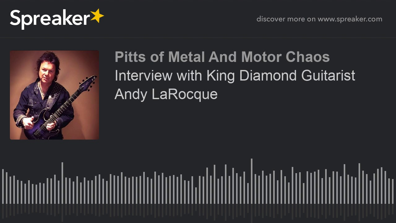 Interview with King Diamond Guitarist Andy LaRocque
