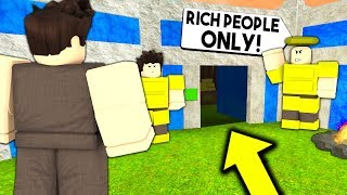 GOD TRIBE Only Lets RICH PEOPLE In.. What I Found WILL SHOCK YOU! | Roblox Booga Booga