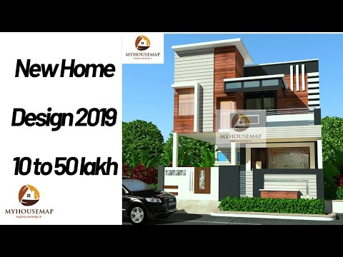New Home Design 2019 10 To 50 Lakh Youtube