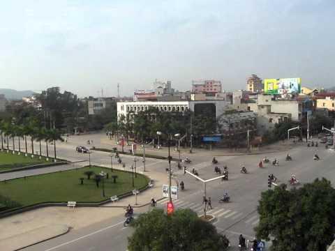 Trung tâm thành phố Thanh Hóa.