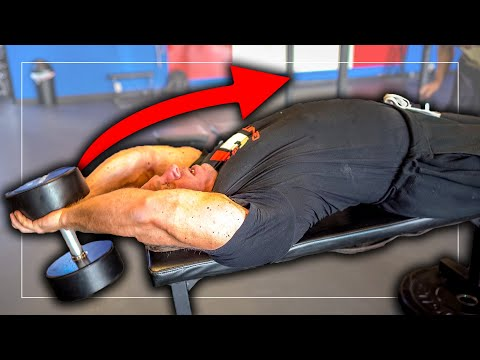 Dumbbell Pullovers for a Thick Chest (MUST TRY)