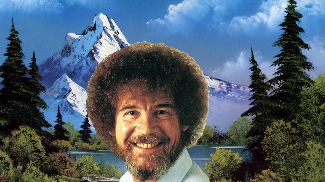 Bob Ross Theme Song Backwards Youtube