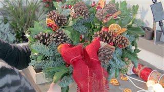 Christmas 2014 - Wreath Making - Traditional