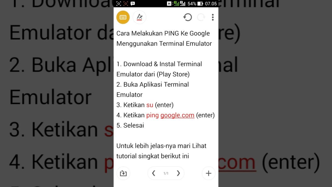 download aplikasi terminal emulator for android