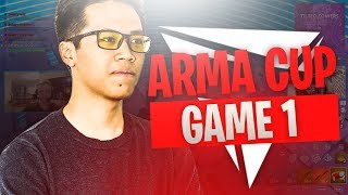 ARMACUP FORTNITE - GAME 1 (Team Solary & Team Lunary)