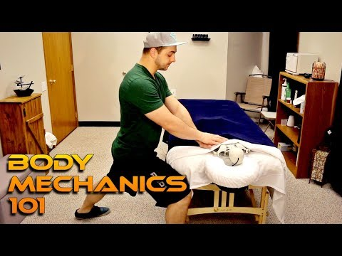 ESSENTIAL Massage Therapy Body Mechanics for Back/Thumb/Wrist