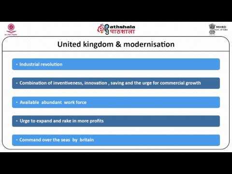 Comparative Politics  Understanding Politics of Developing Societies 05 Issues of Modernization 12