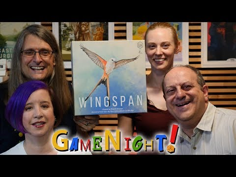 Wingspan - GameNight! Se7 Ep11- How to Play and Playthrough