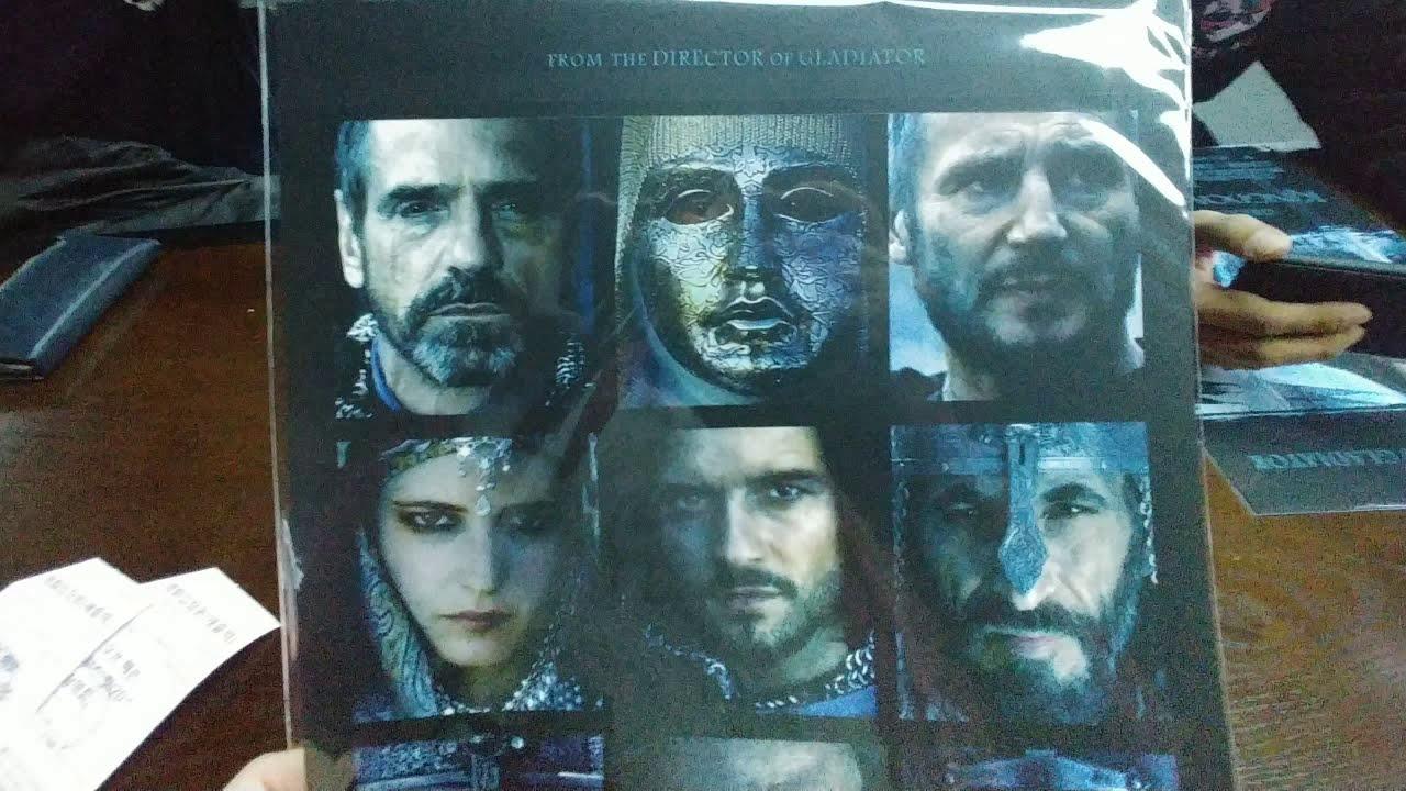 킹덤 오브 헤븐 디렉터스컷 보고 양면 포스터 받았습니다. - YouTube