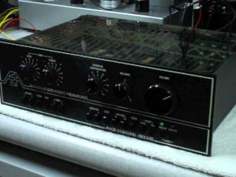 AEA 520 high end preamplifier by Analogue Engineering Associates Burwen AR Levinson