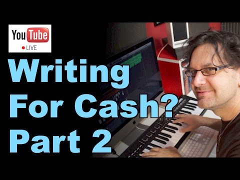 Making Money Writing Music? Let's Find Out! Part 2