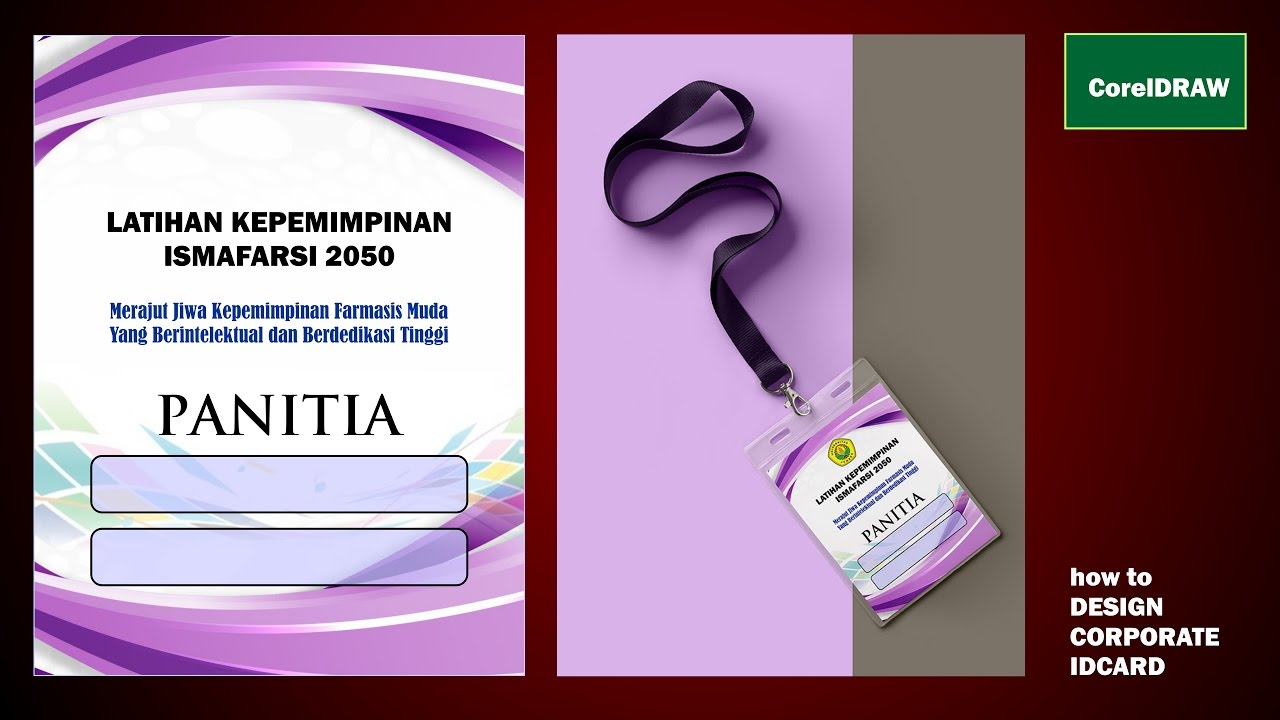 Design Id Card Panitia