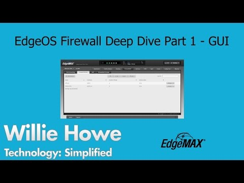 EdgeOS Firewall Interface Overview -EdgeRouter