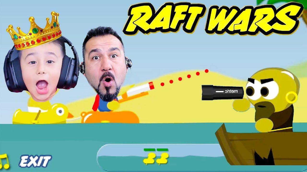 EGEMEN KAAN İLE SAL SAVAŞLARI BAŞLIYOR! | RAFT WARS #1