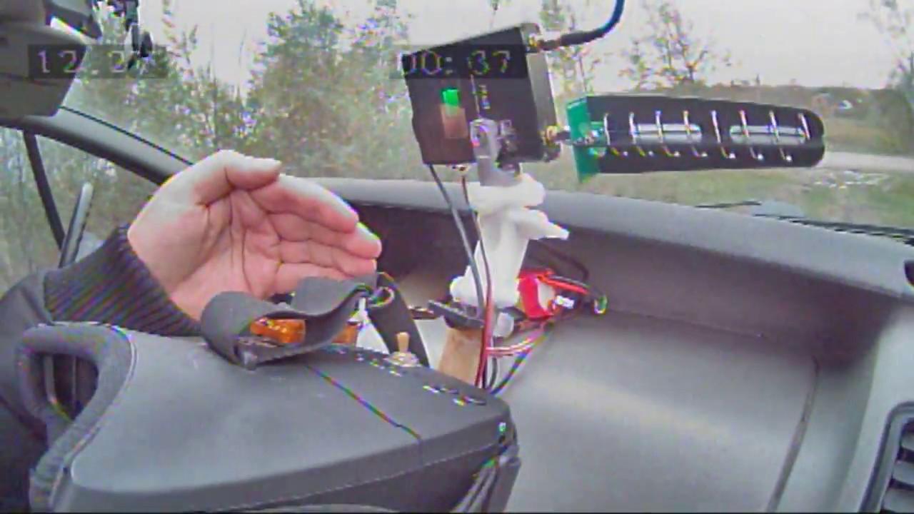 RHCP Aomway 11dbi 7 Turn 5.8GHz Helical Antenna