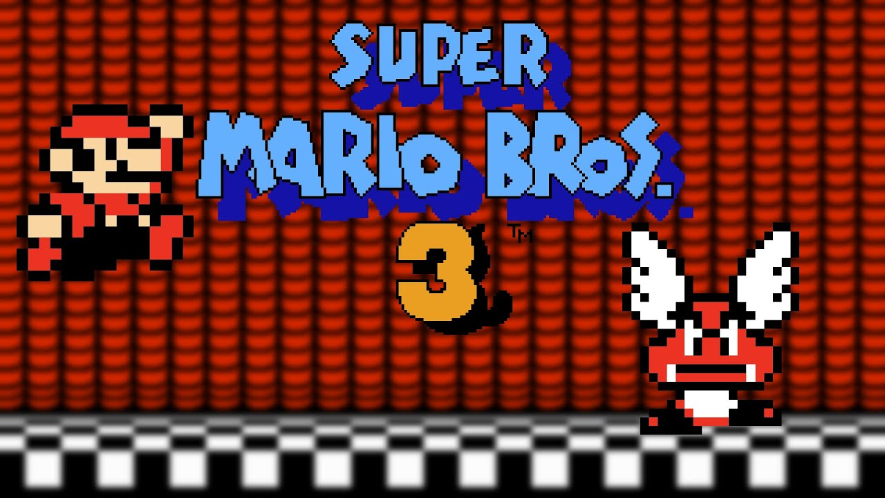 Super Mario Bros 3 Pixel Art Youtube