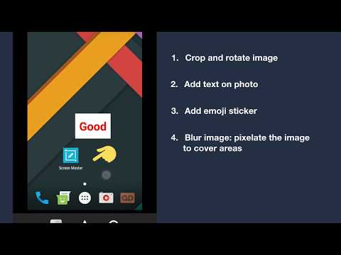 Screen Master: The best Screenshot & Photo Markup tool on Android