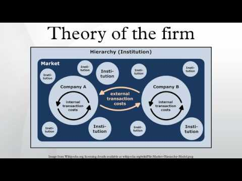 the theory of the firm as 3 arriving at a strategic theory of the firm introduction as many as half of all transactions in the economy are now conducted within firms the theory of the firm sets out to explain the nature and limitations (or boundaries.