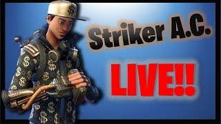 Resource Farming with Striker A.C. - Save the World - Fortnite PVE
