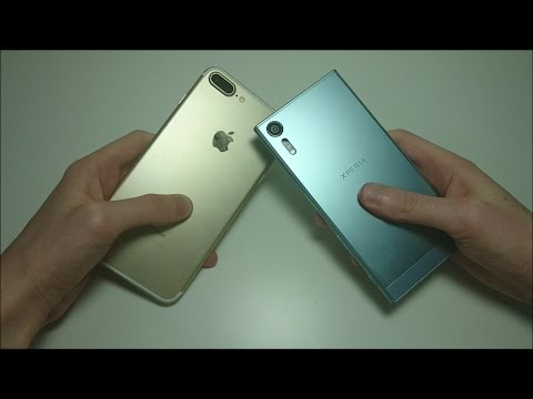 Sony Xperia XZs vs Apple iPhone 7 Plus Speed Test, Multitasking, Benchmark