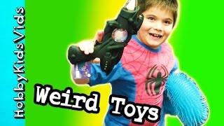 Go Games Store! GIANT Snake, Novelty Toys + Star Wars Blaster HobbyKidsVids