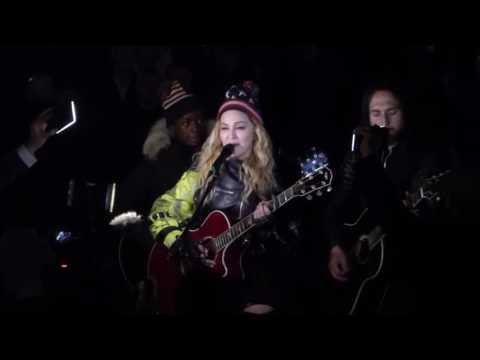 Madonna - Imagine @ Washington Sq. Park (7 Nov 2016)