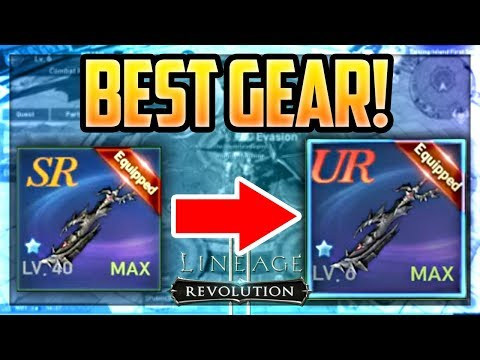 The BEST Gear In The Game - GRADE UR Crafting Guide! Lineage 2: Revolution