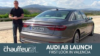 2018 All-New Audi A8 launched for UK's Chauffeur industry