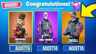 FORTNITE's NEW FREE RENIS and NEW SKINS! Fortnite News ITA