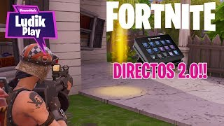 PLAYING WITH SUBS AND STREAM DECK! FORTNITE SAVE THE WORLD ENGLISH GAMEPLAY