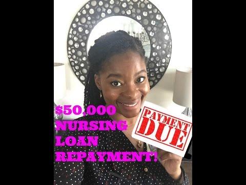 $50,000 NURSING LOAN REPAYMENT!