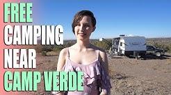 Free Camping Near Camp Verde, AZ | Cedar Flats Road | Campsite Review