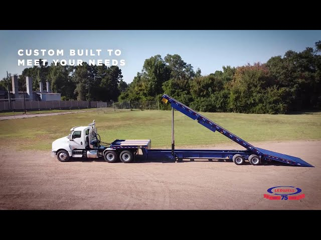 Lift Higher: The NEW Ledwell MaxTilt Trailer