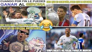 Memes Real Madrid vs Girona 6-3 Poker de Cristiano Ronaldo