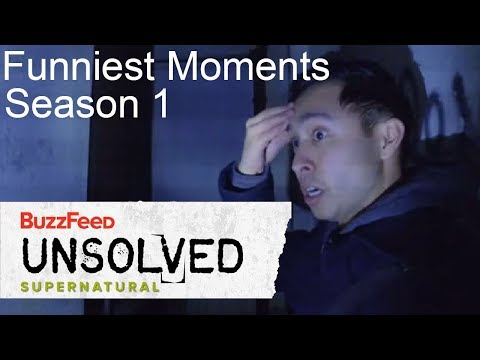 Buzzfeed Unsolved Supernatural  S1 - Funniest Moments