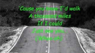 David Archuleta - A Thousand Miles lyrics