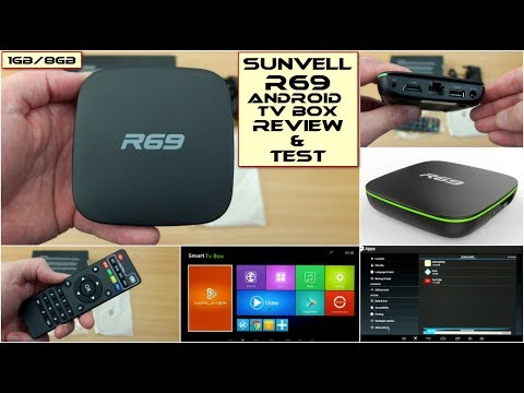 Sunvell R69 Android TV Box: Review & Test