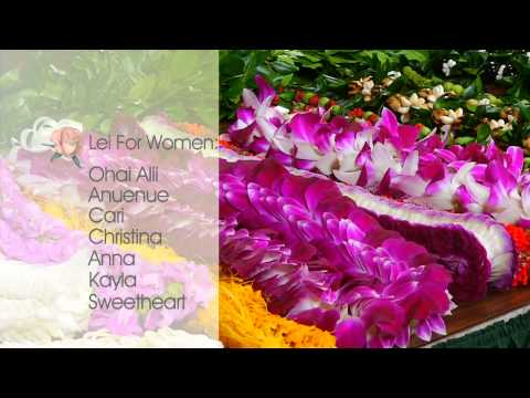 How To Choose A Lei For A Woman | Watanabe Floral - Honolulu, Hawaii Florist Flower Shop