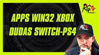 Ejecutando aplicaciones nativas win32 en XBOX One. No UWP. Dudas Switch - PS4 - XBOX