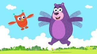 How do birds fly? | Why can't we fly like birds? | Polly Olly