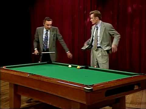 Late Night 'Pool Trick for the Memory of Jerry Orbach 122904