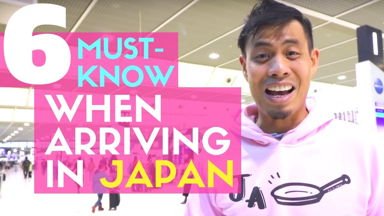e647bf96ca What you NEED to KNOW when you First Arrive in Japan - YouTube