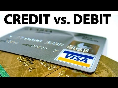 Only Idiots Use Debit Cards -- Why CREDIT IS BETTER