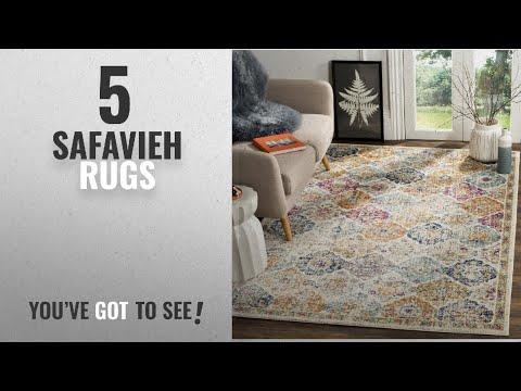 top-10-safavieh-rugs-[2018]:-safavieh-madison-collection-mad611b-bohemian-vintage-cream-and-multi