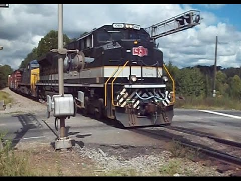 NS #1065 S&A HERITAGE 4 TOWN CHASE #2 IN ROCKINGHAM N.C. TO LILESVILLE N.C. ON 9/6/14.....VIDEO #334